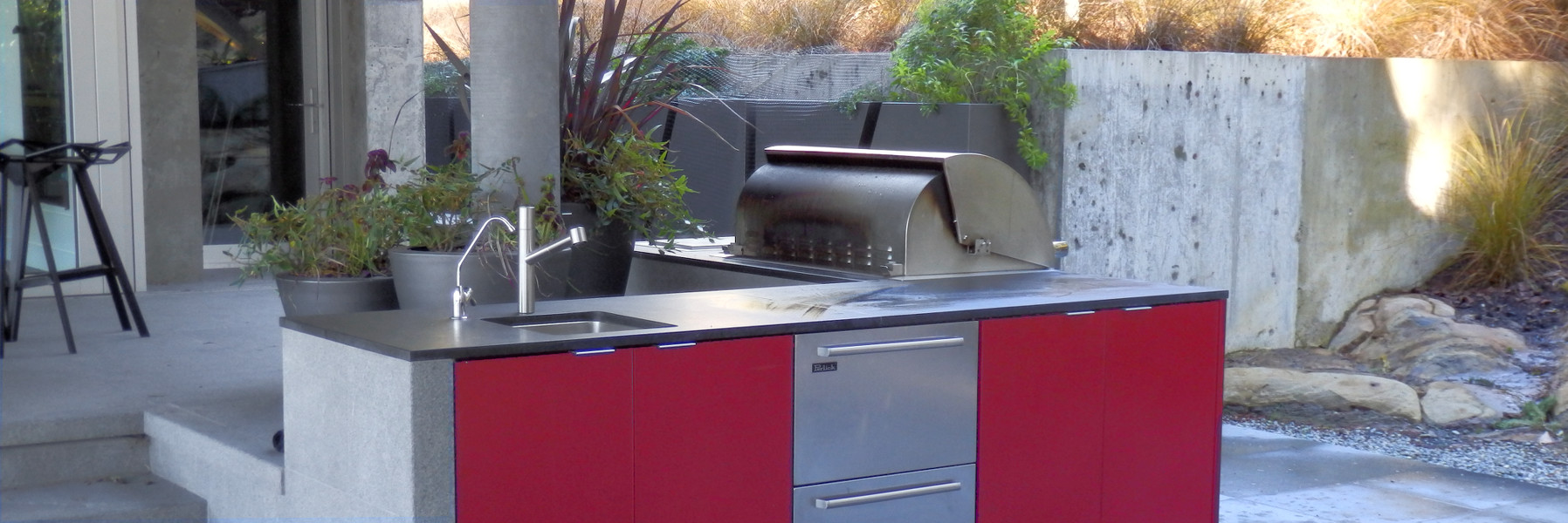 IM Design Aluminum Outside Kitchen