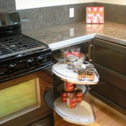 cuina alumini gris fosc non-toxic calaixos soft close, emmegatzematge extraïble raconer