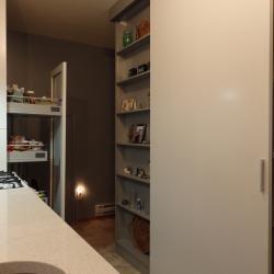schadstofffreie nachhaltige Aluminiumküche - eternAL in Elfenbein  - IMDesign